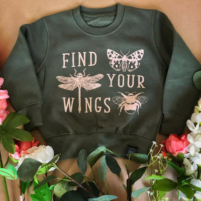 Find Your Wings Kids Sweater
