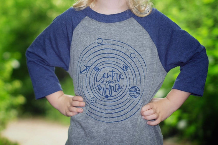 kids universe space t-shirt