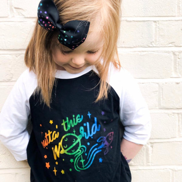 outta this world kids space top