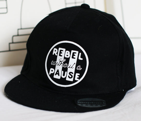 kids sun hat cap snapback rebel without a pause marloweville uk