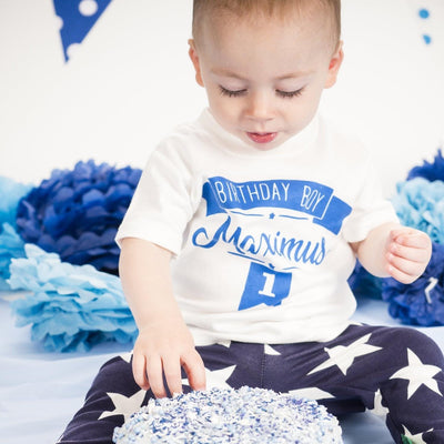kids first birthday t-shirt