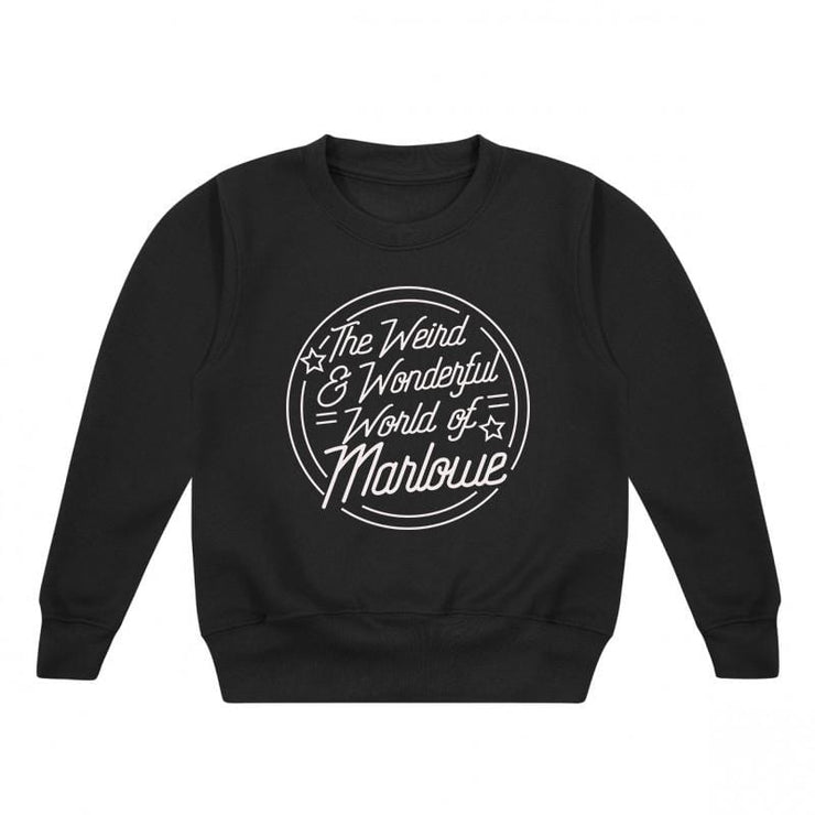 Personalised Weird and Wonderful Kids Sweater