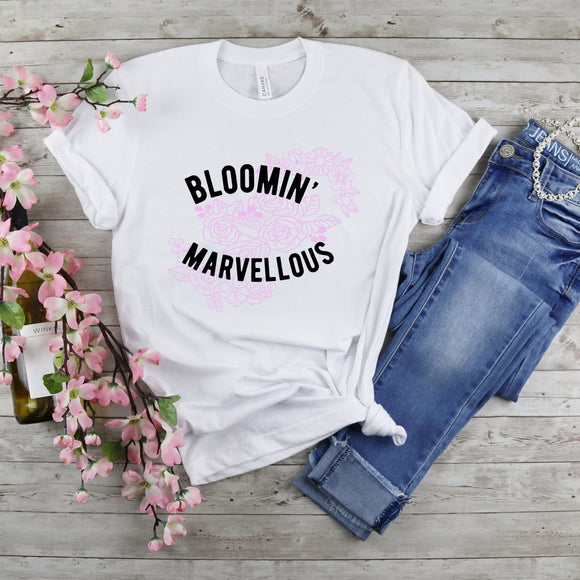 Bloomin Marvelous Ladies Tee / Raglan
