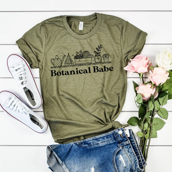 Botanical babe Ladies Tee / Raglan