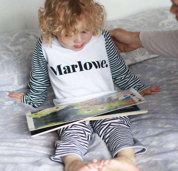 Personalised Classic Name Pyjamas