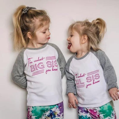 Coolest Bro/Sis Kids T-Shirt/ Vest (Short and Long Sleeved)