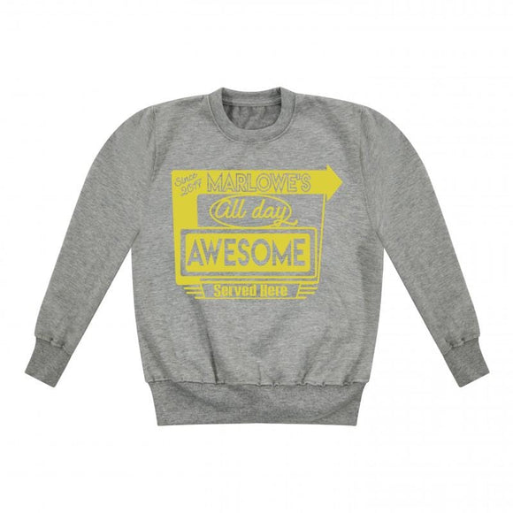 Personalised Diner Kids Sweater