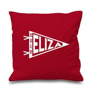 College Flag Personalised Cushion