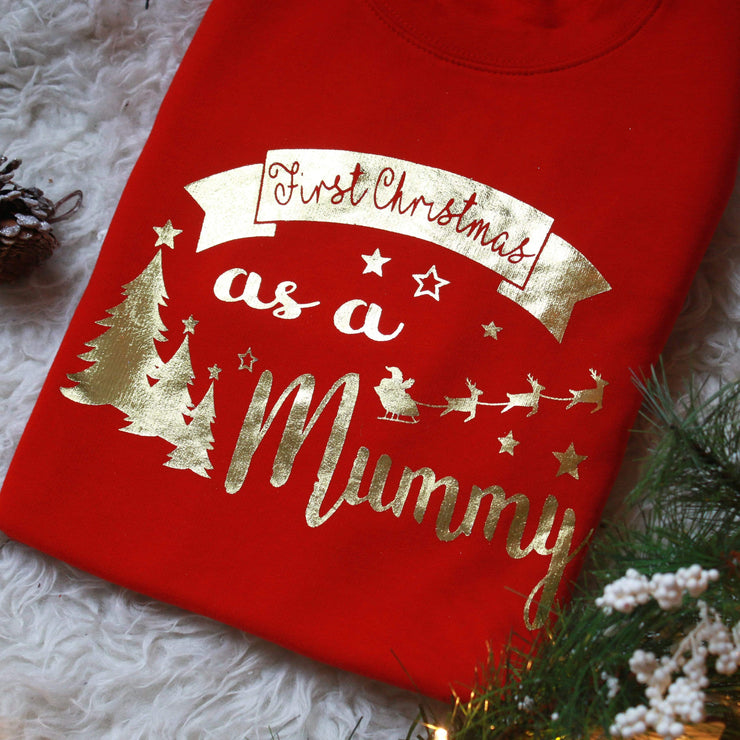 First Christmas as a mummy Christmas Sweater