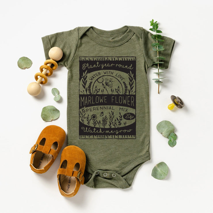 Little seedling (personalised) Vest