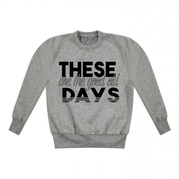 Good Old Days Kids Sweater