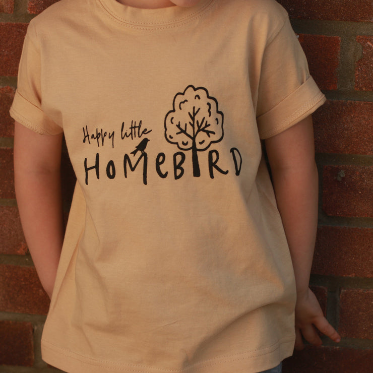 Happy Little Homebird Kids T-shirt