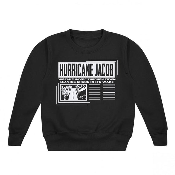 personalised hurricane top kids uk