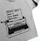 Typewriter (personalised) Name T-Shirt