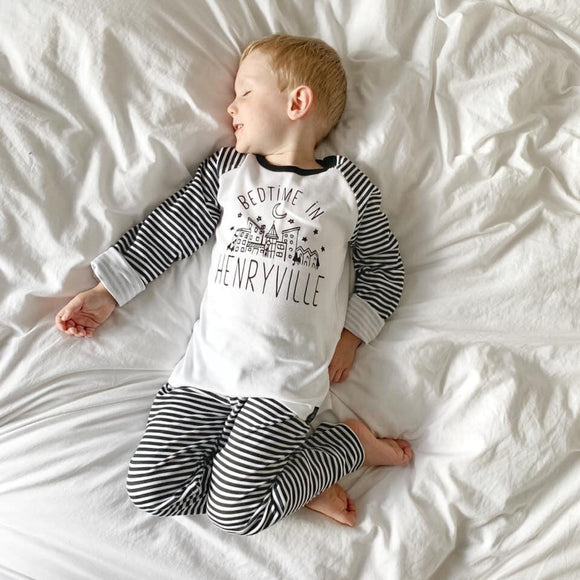 Personalised Town Pyjamas