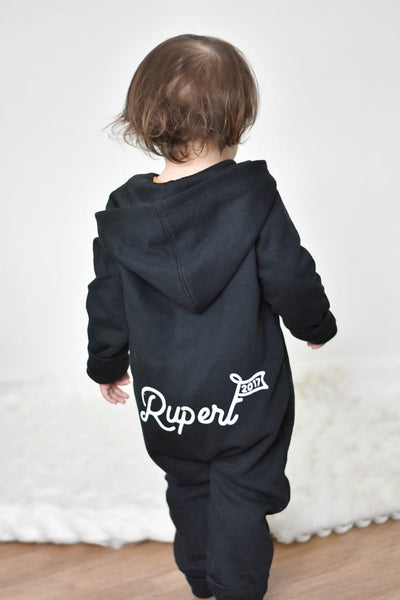 Fleece Hooded Onesie (all designs)