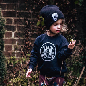 Rebel Without a Pause Kids Sweater
