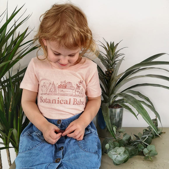 Botanical Babe Kids T-Shirt