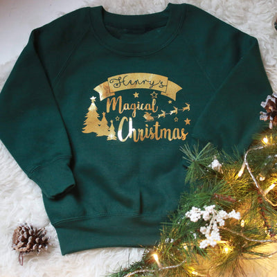 Personalised Magical Kids Sweatshirt