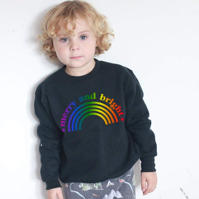 Ombre Merry and Bright Sweatshirt