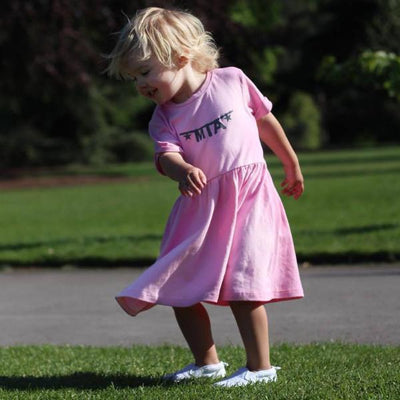Personalised Name Banner Cotton Dress