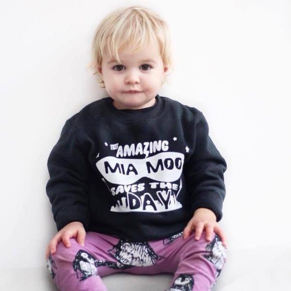 Personalised Super Hero Sweater (Kids and Adults)