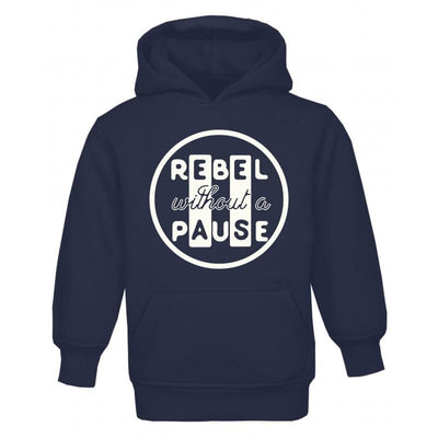Rebel Without A Pause Zip Hoodie