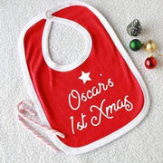 First Christmas Bib (personalised)