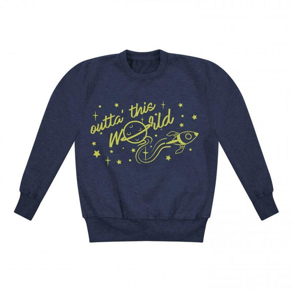 Outta' This World Kids Sweater
