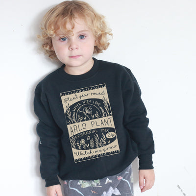 Seedling (personalised) Kids Sweater