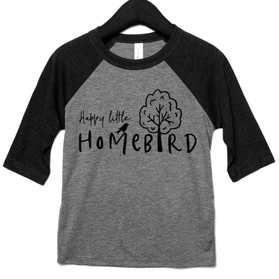 Happy Little Homebird Kids Raglan