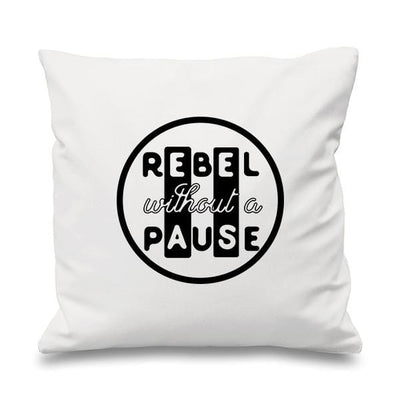Rebel without a Pause Cushion