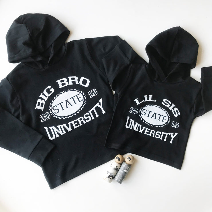 Sibling University Kids T-Shirt/ Vest (Short and Long Sleeved)