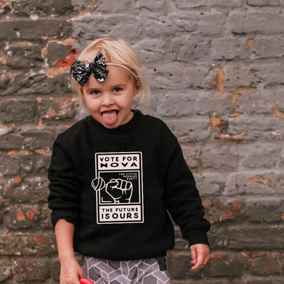 Personalised Vote for Kids Sweater