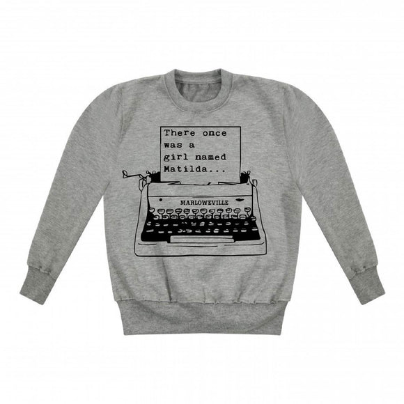 Personalised Type Writer Kids Sweater