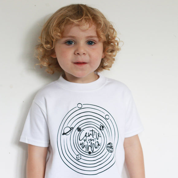 Centre of your Universe Kids T-Shirt