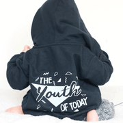 Youth of Today Kid's Slogan Zip Hoodie
