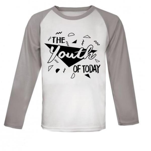 Youth of Today Raglan Baseball Kids Top