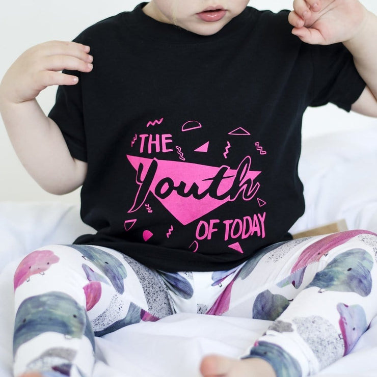 kidswear uk youth of today printed kids t-shirt