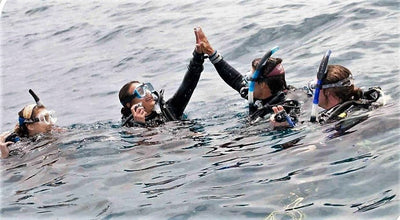 8 REASONS WHY WOMEN MAKE BETTER DIVERS