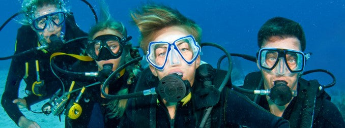 Family Dive Vacation