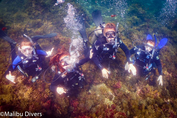 Girl Scout SCUBA at Camp Emerald Bay