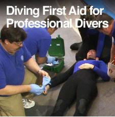DAN - Diving First Aid for Professional Divers