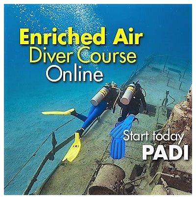 Enriched Air Diver  Specialty & Certification (eLearning)
