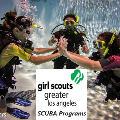 Girl Scouts SCUBA Diving (Pool)
