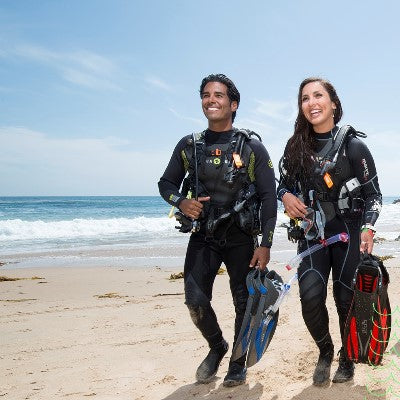 Additional guided dive & rental gear (Beach)