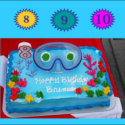 SCUBA Birthday Party (Pool)