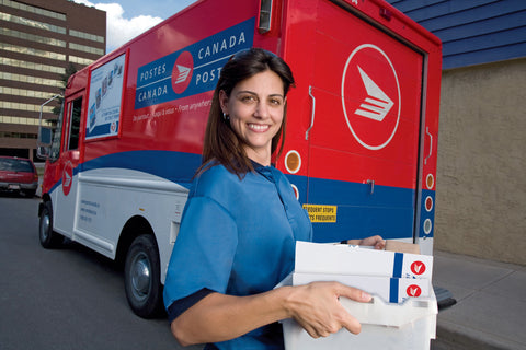 Carrier Calculated shipping via Canada Post (within Canada)