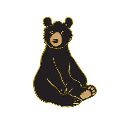 American Black Bear Enamel Pin