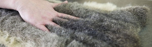 Possum fur and merino wool